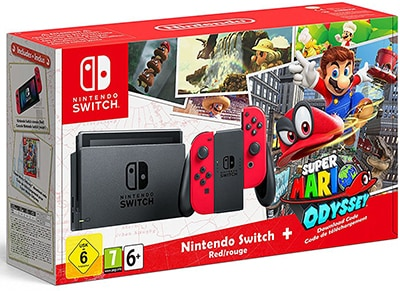 Nintendo Switch Super Mario Odyssey Edition - Κονσόλα Nintendo gaming   κονσόλες   nintendo switch