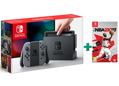 Nintendo Switch & NBA 2K18 - Κονσόλα Nintendo gaming   κονσόλες   nintendo switch