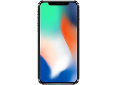 Apple iPhone X 256GB Silver - 4G Smartphone apple   iphone