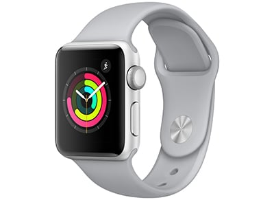 Apple Watch Series 3 - 38mm Aluminium Silver - Sport Band Fog