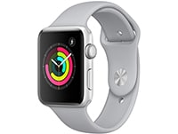 Apple Watch Series 3 42mm Aluminium Silver Sport Band Fog