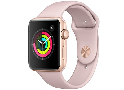 Apple Watch Series 3 - 42mm Aluminium Gold - Sport Band Pink Sand