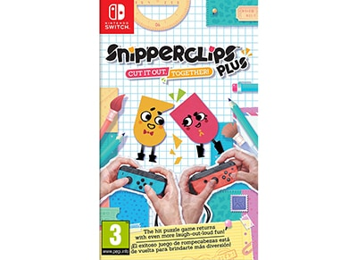 Snipperclips Plus: Cut It Out Together! - Nintendo Switch Game gaming   παιχνίδια ανά κονσόλα   nintendo switch