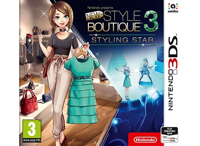 New Style Boutique 3 Styling Star - 3DS/2DS Game