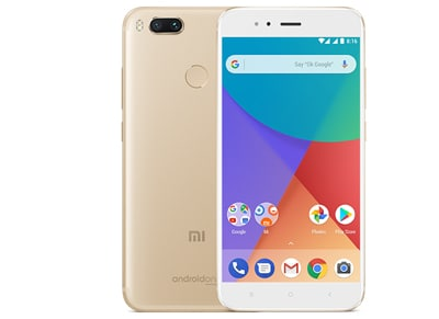 Xiaomi Mi Α1 64GB Χρυσό Dual Sim Smartphone Powered by Google