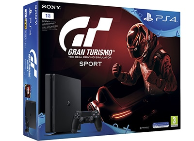 Sony PlayStation 4 - 1TB Slim & Gran Turismo Sport