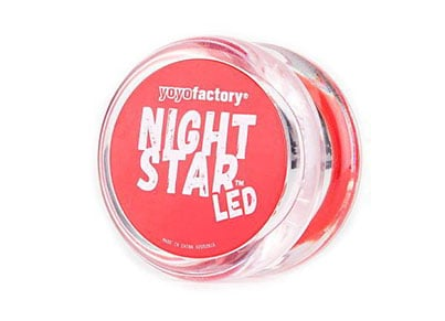 Yo-Yo Nightstar Clear Red