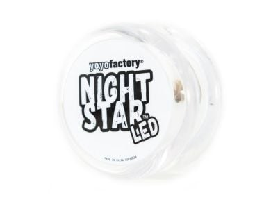 Yo-Yo Nightstar Clear White