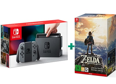 Nintendo Switch & The Legend of Zelda: Breath of the Wild Limited Edition gaming   κονσόλες   nintendo switch