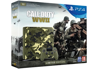 Sony PlayStation 4 - 1TB Slim Limited Edition & Call of Duty: WWII gaming   κονσόλες   ps4
