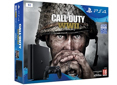 Sony PlayStation 4 - 1TB Slim & Call of Duty: WWII