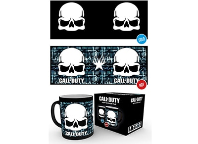 Κούπα GB Eye Call of Duty WWII Skull Heat Change Mug
