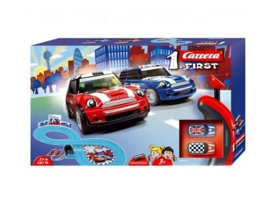 Πίστα Αγώνων Carrera Slot 1 First Mini Cooper