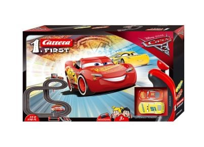 Πίστα Αγώνων Cars 3 Lightning McQueen Carrera Slot First