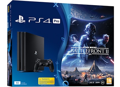 Sony PlayStation 4 Pro - 1TB & Star Wars Battlefront II gaming   κονσόλες   ps4