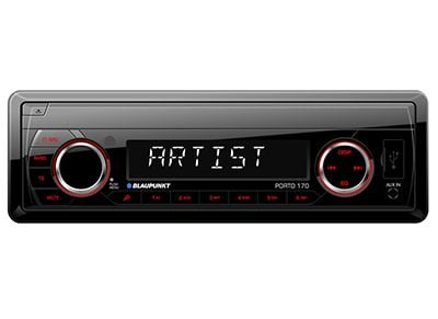 Car Audio Blaupunkt Porto 170 - Radio/USB/SDHC/SD/MP3