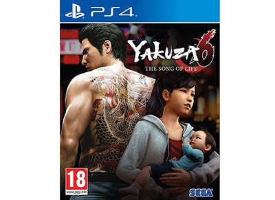 Yakuza 6: The Song of Life - PS4 Game