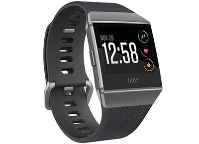 Smartwatch Fitbit Ionic Charcoal Gray