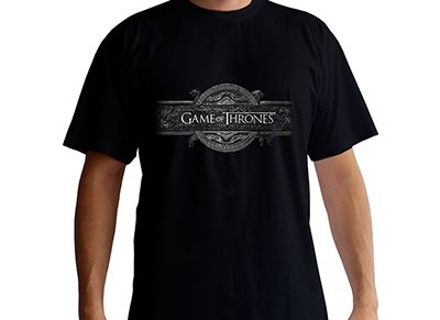 T-Shirt Abysse Game of Thrones Opening Logo Μαύρο - M