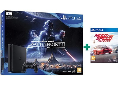 Sony PlayStation 4 Slim - 1TB & Star Wars Battlefront II & Need for Speed Paybac gaming   κονσόλες   ps4