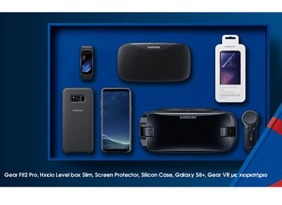 Samsung Galaxy S8+ 64GB Silver / 6-in-1 Ultimate Pack
