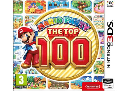 Mario Party: The Top 100 - 3DS/2DS Game