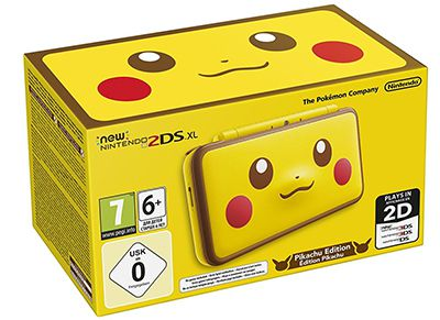 New Nintendo 2DS XL Pikachu Edition - Κίτρινο/Μαύρο gaming   κονσόλες   nintendo 2ds   3ds