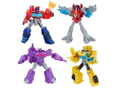 Φιγούρα Transformers Cyberverse Action Attacker 14cm (1 Τεμάχιο)