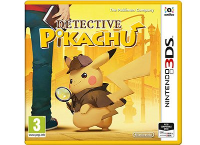 Detective Pikachu - 3DS/2DS Game