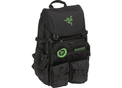"Τσάντα Laptop Πλάτης 17.3"" Razer Tactical Pro - Backpack Μαύρο gaming   gaming cool stuff"