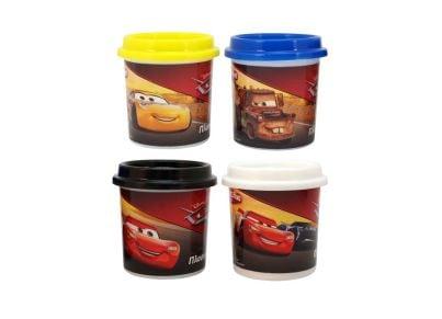 Βαζάκι Πλαστελίνης Cars 4oz (1 Τεμάχιο)