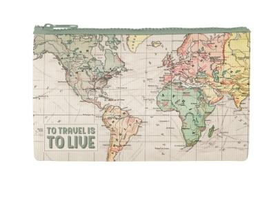 Πορτοφόλι Με Φερμουάρ Legami Funky Collection Travel