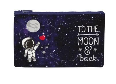 Πορτοφόλι Με Φερμουάρ Legami Funky Collection To The Moon