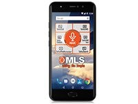 "MLS DX 5.5"" 16GB Dual Sim Μαύρο 4G Smartphone"