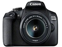 DSLR Canon EOS 2000D Kit 18-55mm IS SEE Μαύρο