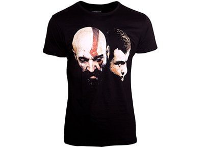 T-Shirt Bioworld  God of War Kratos Son - XL