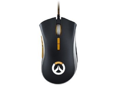 Razer DeathAdder Elite Chroma Overwatch Edition Gaming Mouse Μαύρο