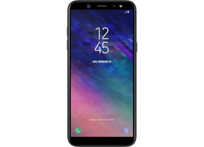 Samsung Galaxy A6 32GB Μαύρο Dual Sim 4G Smartphone