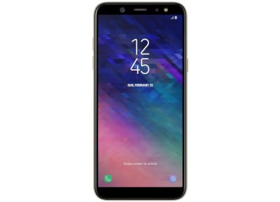 Samsung Galaxy A6 32GB Χρυσό Dual Sim 4G Smartphone