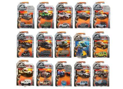 Αυτοκινητάκι Matchbox Jurasic World (1 Τεμάχιο)
