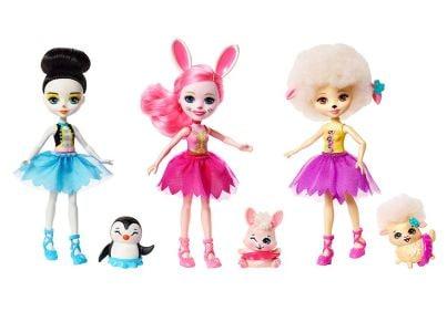 Σετ Enhantimals Κούκλες Μπαλαρίνες