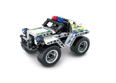 Σετ Κατασκευής Police Car Pull-Back (199 Κομμάτια)