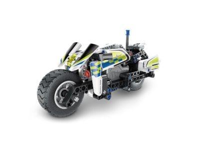 Σετ Κατασκευής Police Motorbike Pull-Back (193 Κομμάτια)