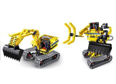 Σετ Κατασκευής Excavator & Robot 2σε1 (342 Κομμάτια)