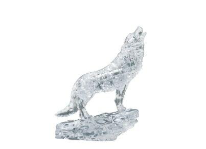 3D Παζλ Λύκος Διαφανής (37 Κομμάτια)