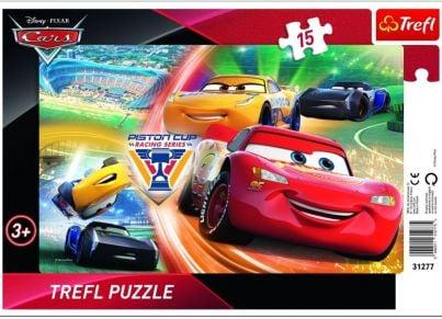 Παζλ Disney Cars Frame (15 Κομμάτια)