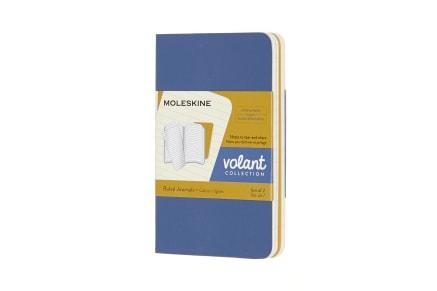 Σημειωματάριο Moleskine Volant  Μπλε Extra Small (2 Τεμάχια)