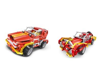 Σετ Κατασκευής SUV Car & Roaster 2σε1 ( 472 κομμάτια)