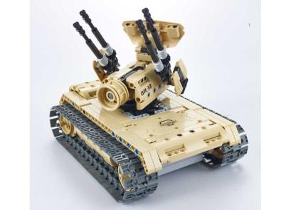 Σετ Κατασκευής Anti-aircraft Tank 2.4 G. 4CH  ( 457 κομμάτια)