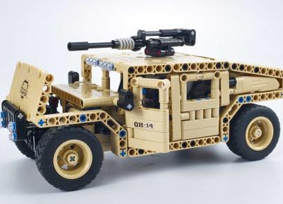 Συναρμολογούμενο R/C Armed Off-Road Vehicle 2.4G 4CH